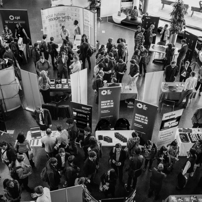 students at the WRIPA career fair