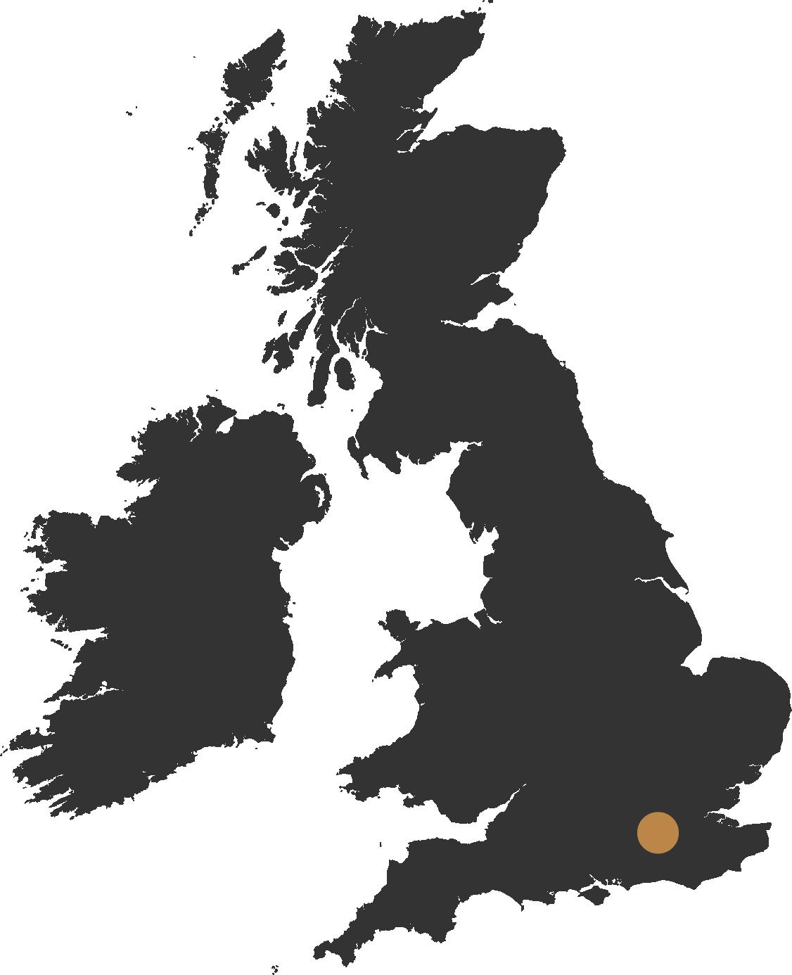 leatherhead map