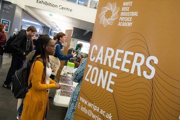 The WRIPA fair careers zone