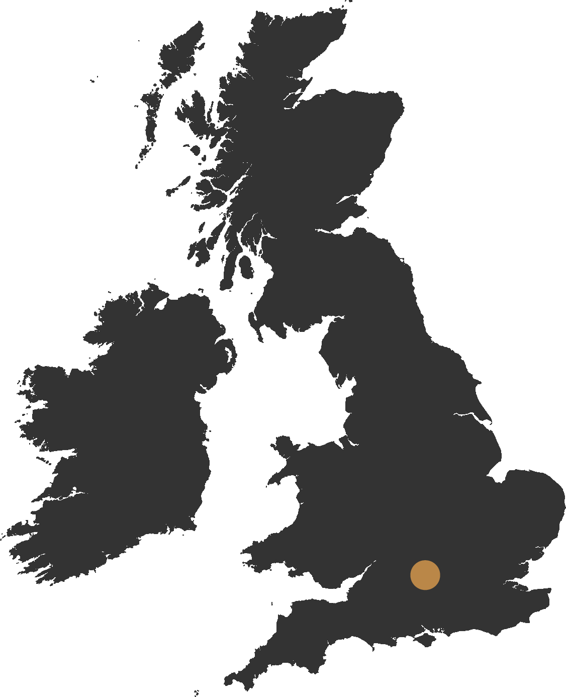 map of the uk showing oxfordshire