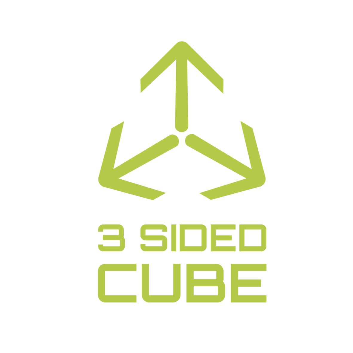 3 sided cube logo